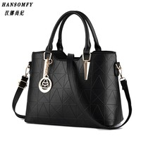 HNSF 100 Genuine Leather Women Handbags 2017 New Sweet Lady Temperament Female Bag Fashion Handbags Shoulder