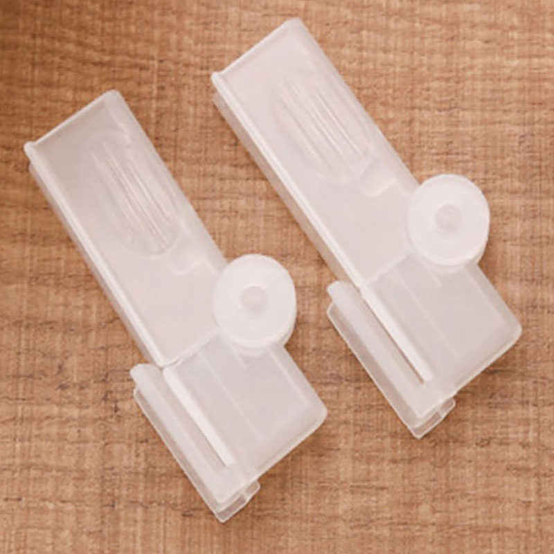 Hot 2Pcs Milk Seal Clips Multifunctional Snacks Sealed Clips Keeping Food Fresh Sealed Box Folder Carton Packed Sealing Clip