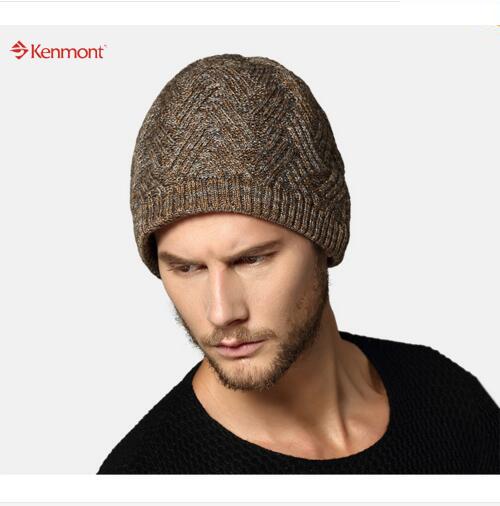 Envío gratis nueva llegada hombres mujeres invierno Unisex de punto de esquí del casquillo del sombrero para el regalo navidad KM-1600
