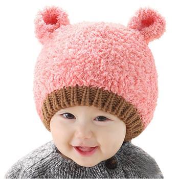 2016 baby photo props beanie rabbit ear gorros bebes crochet beanie toddler cap for 4 months-3 years old girl gorros de bebes 2019