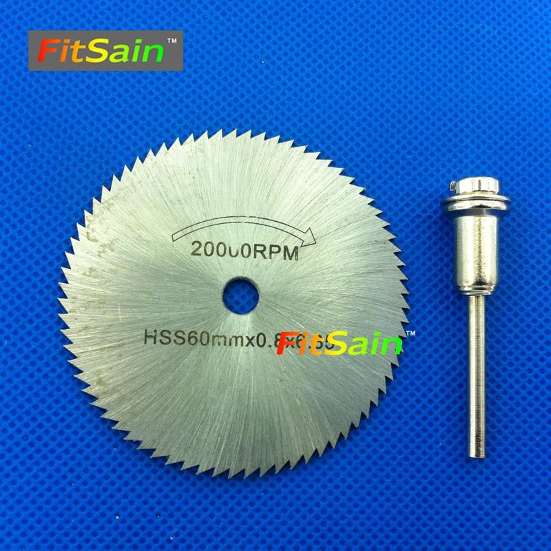 FitSain--HSS Saw blade dremel cutting 60mm Circular Saw Blades Wood Cutters for Dremel Rotary tools Wood tools