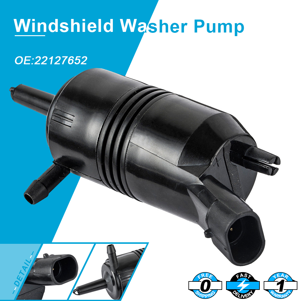 OEM Windshield Washer Pump fit for Chevy Chevrolet GMC Buick Cadillac 22127652 title=