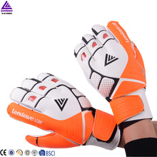 Soccer Soccer  Ball Profession Training Goalkeeper Gloves With Fingerboard Durable Senior Protected Football Gloves For Adults