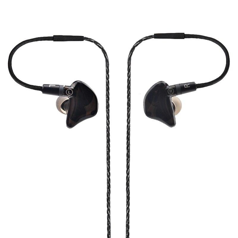 Nueva DIY UE Por Encargo Alrededor de la Oreja los Auriculares Unidad Dual In-E