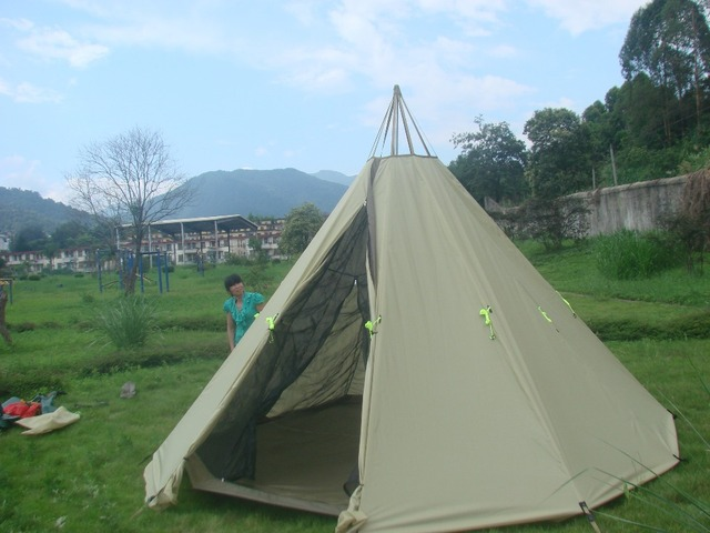 tipi tents c&ing tents mountaineering tents stove tents & tipi tents camping tents mountaineering tents stove tents-in Tents ...