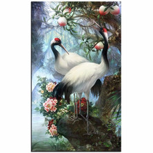 3D Diamond Embroidery Diamond Mosaic Lovers Birds Pictures Cross Stitch Knitting Needles Wedding Decoration Hobbies And Crafts