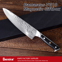 japan knife 8inch professional chef knife vg10 damascus 67layers kitchen knives with pakka wood handle