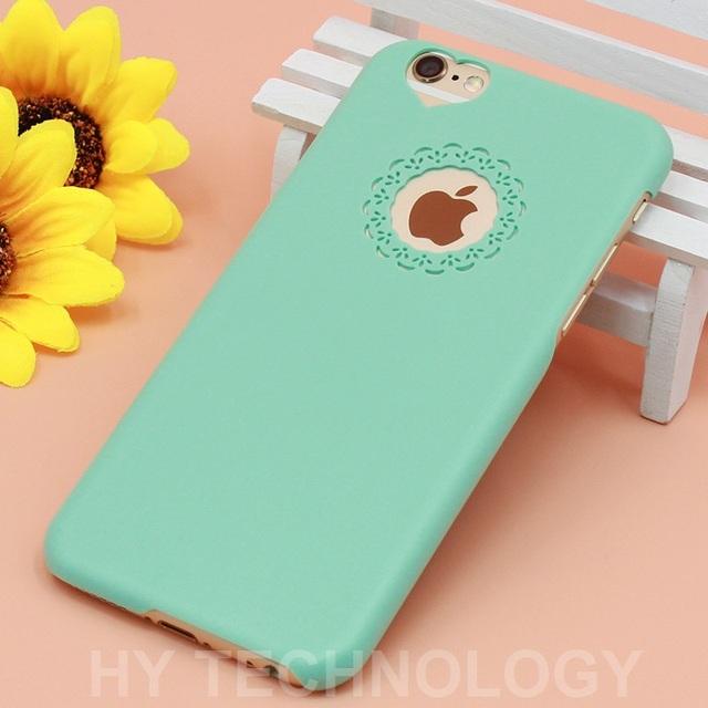 Candy Color Phone Case iPhone 6 6 S 6 S Plus 4 4 S 5 5 S SE