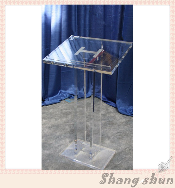 Contemporary Acrylic Lectern Acrylic Church Pulpit / High Quality Acrylic Church Podium acrylic desktop lectern acrylic lectern stand acrylic podium pulpit lectern for church modern design acrylic lectern