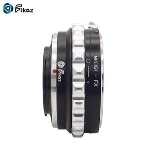 Image 2 - Fikaz AI (G)  FX עדשת מתאם טבעת עבור ניקון AI G עדשה כדי Fujifilm X הר X Pro1 X M1 X E1 X E2 X T1 X100 x10T מצלמה