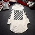 Off White C/O Virgil Abloh Jaqueta Homens Mulheres Hip Hop listrado Roupas de Marca Moda Streetwear Trincheira Fina Off Jaqueta Branca casacos