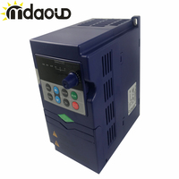FREE SHIPPING 0.75kw/ 1.5kw /2.2kw 220v AC Frequency Inverter Single Phase Input 3 Phase Output AC Drives /Frequency Converter