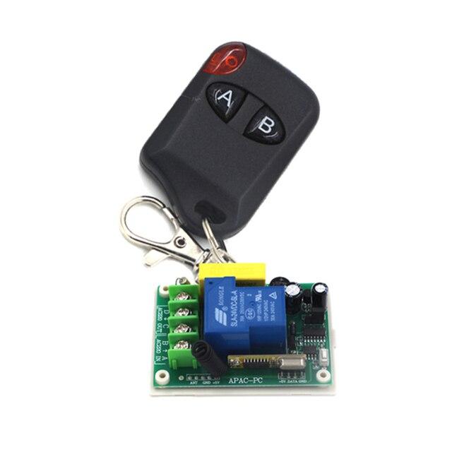 Fernbedienung schalter ac 220 v 30a relais empfänger sender motor ...