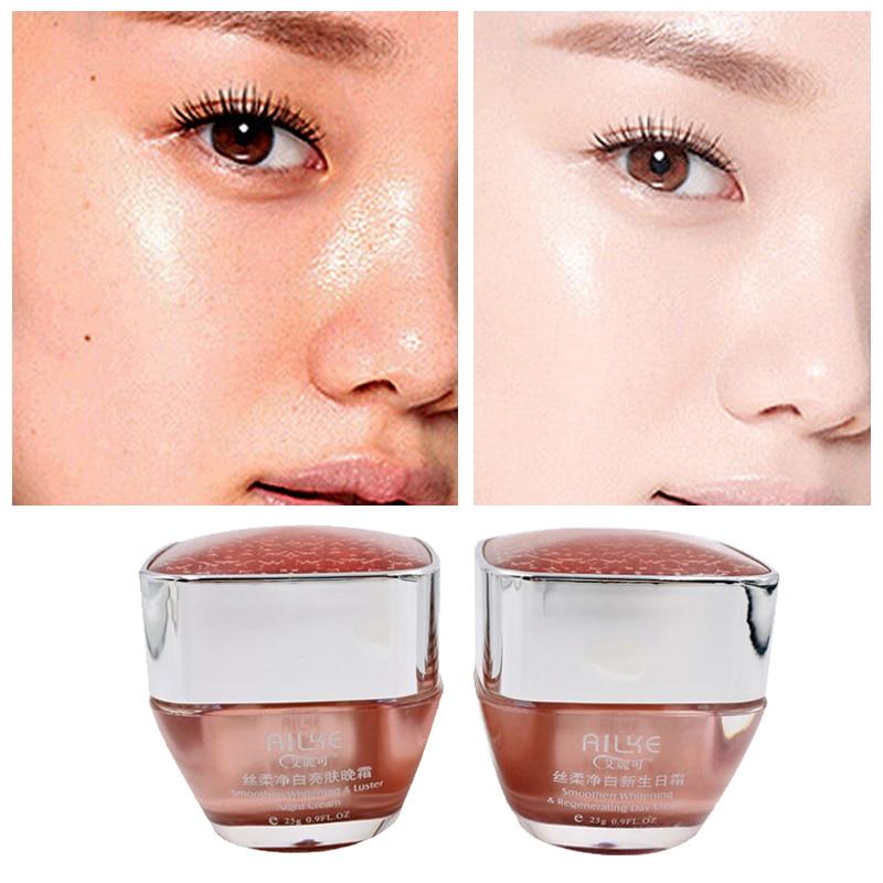 Whitening Cream Freckles Pigmentation Melasma Removal Skin Lightening For Dark Spot Manchas Remover For Face Anti Aging 2 In 1
