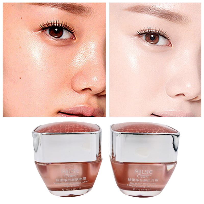 Whitening Cream Freckles Pigmentation Melasma Removal Skin Lightening For Dark Spot Manchas Remover For Face Anti Aging 2 In 1