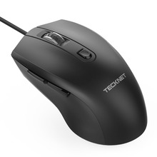 TeckNet Alpha S3 6-Button USB Wired Mouse Optical Office Business Gaming Mouse Mice for Windows XP/Vista/7/8/10, Mac and Linux все цены