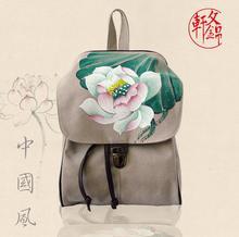 Новая сумка 062917 Женская мода Горячая Китайский рюкзак дважды сумка