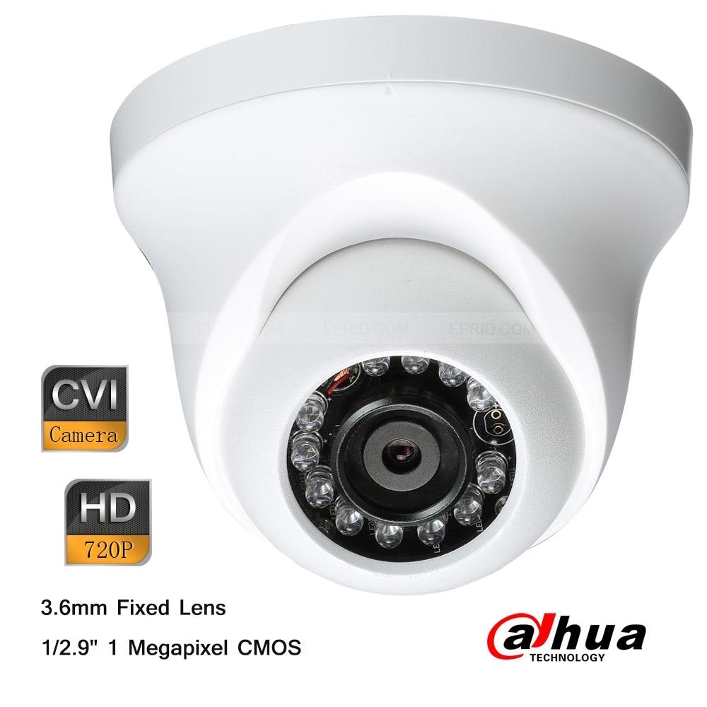 ФОТО Dahua 1Megapixel HD 720P IR HDCVI Mini Indoor Plastic Dome 3.6mm Lens Camera