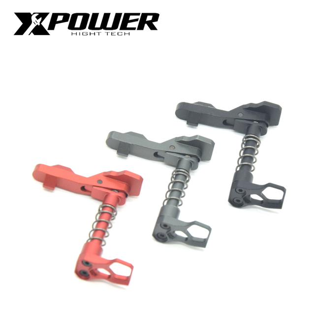 XPOWER Magazine Release Gel Gearbox CNC Card Falcon Mag Release Button Metal Aluminum Alloy Accessories