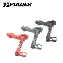 XPOWER rivista rilascio gel cambio cartuccia morbida pistola ad aria CNC carta falcon Mag pulsante di rilascio di alluminio del metallo accessori