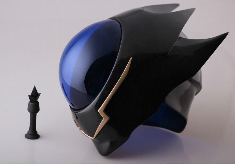 Anime Code Geass Lelouch Zero Helmet Halloween PVC Mask Cosplay Props