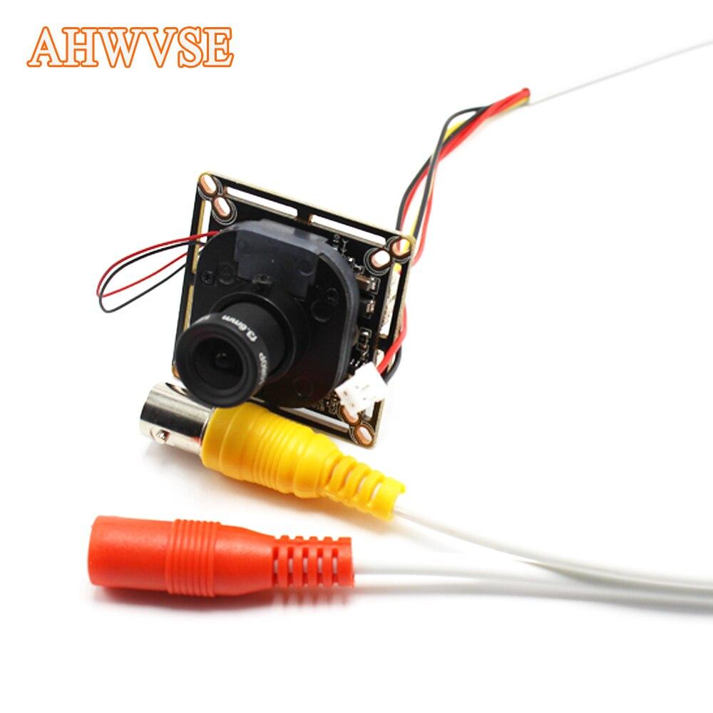 AHWVSE Ultra Faible Éclairage 2.8mm AHD Caméra CMOS 2000TVL IR Cut Filtre Appareil Photo 2MP 720 P 1080 P Mini Caméra de Sécurité Pour AHD