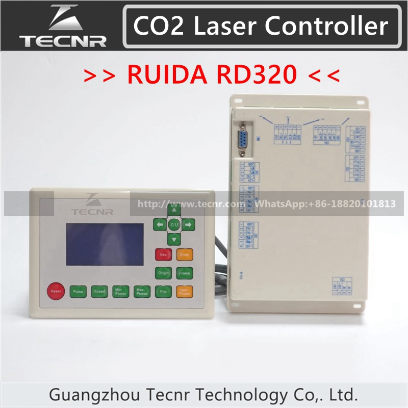 RDLC320 A CO2 Laser Control System for co2 laser cutting and engraving machine RUIDA RDLC320 RD320