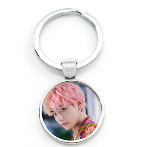 Hot Army Bomb Key Chains Key Rings Holder Kpop BT21 Jewelry K-pop Boys Accessories For Fans Album Love Yourself(China)