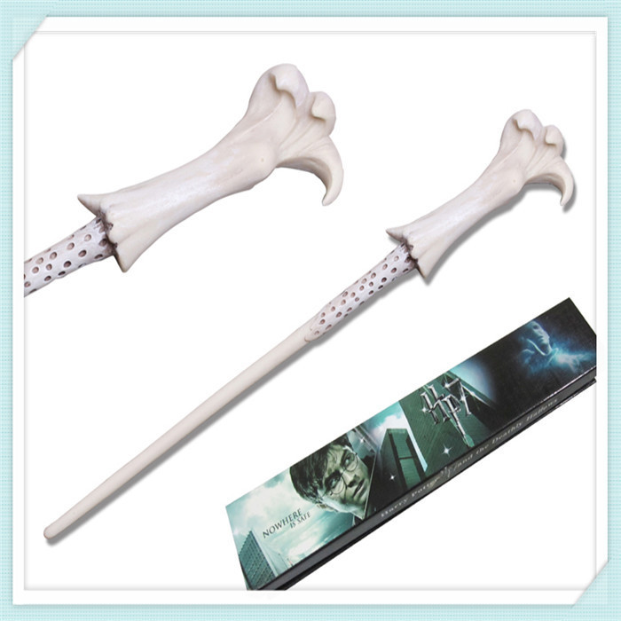 New Deluxe Harry Potter Hogwarts Wizard Magic Wand//LED Wand Cosplay In Box