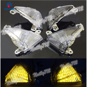 waase EMARK Motorcycle Front Turn Signals Blinker LED Light For Kawasaki Z1000 2007 2008 2009 2010 2011 2012 2013