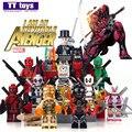 Decool 0246 de-mark33 iron man sola venta bloques de construcción con base super hero the avengers mini muñecas mejor regalo de los niños juguete