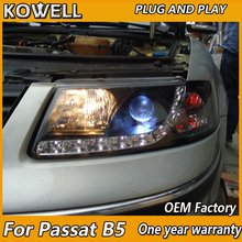 Kowell Car Styling For Vw Pat B5 1999 2000 2001 2002 2003 2004 2007 Headlight