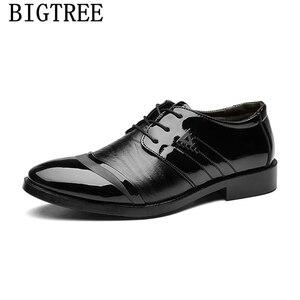 Мужские туфли-оксфорды; Кожаная Свадебная обувь; Мужская офисная обувь; Классическая официальная обувь для мужчин; Sapato Social Masculino Grimentin