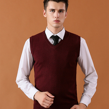 2018 Solid Color Vest Sweaters Wool Pullover Mens Male Knitted Cashmere  Clothes 07f004549