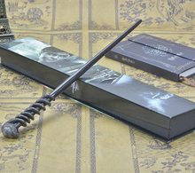 Cosplay Metal Core Harry Potter Magic Wand Harry Potter Magical Wand  Harry Potter Stick High Quality Halloween Gift Box Packing revenson j harry potter film vault volume 1 forest lake and sky creatures
