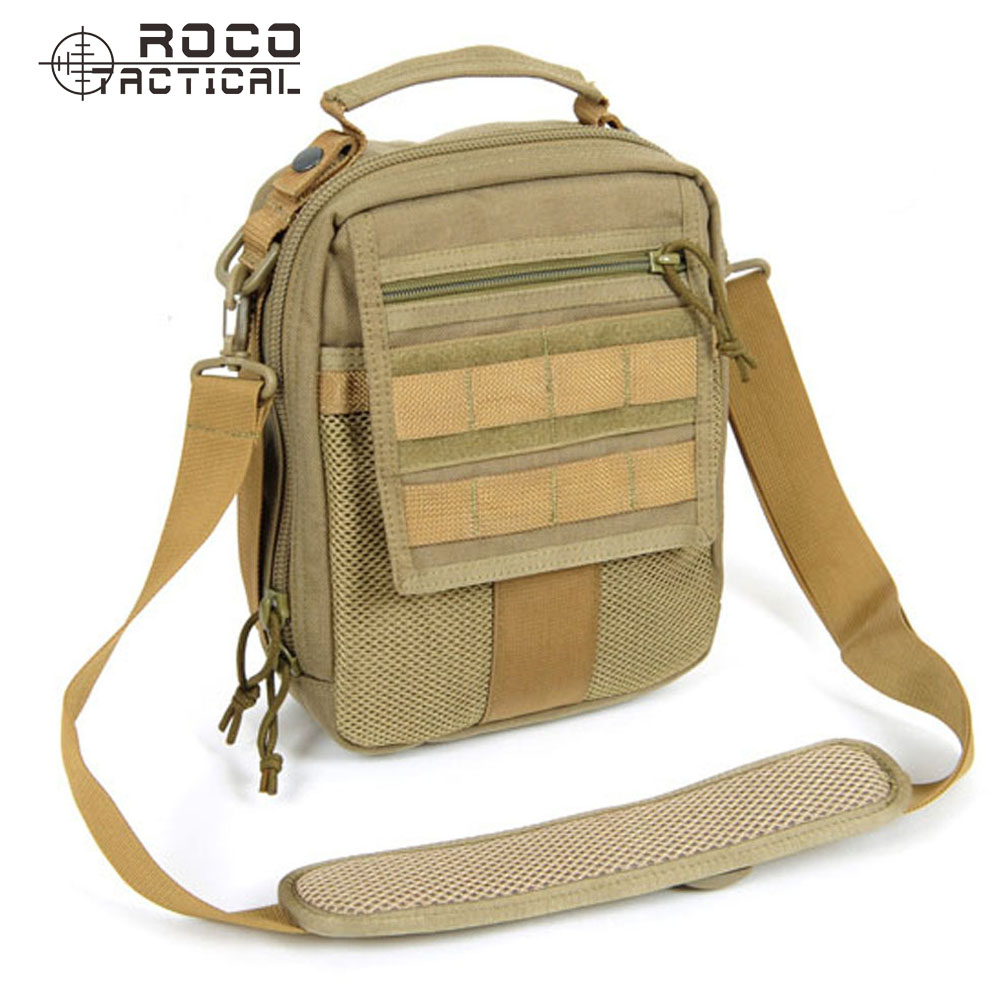 ROCOTACTICAL Military Medical Bag Outdoor Travel Sling Pack EDC Neatfreak Organizer for Hunting Camping Cordura Nylon