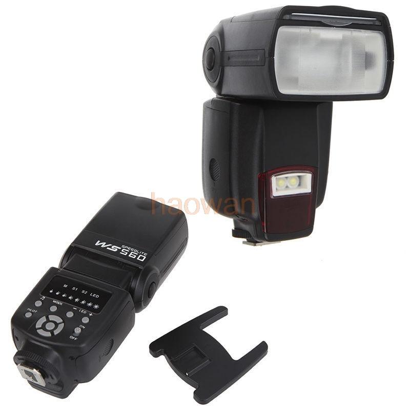 лучшая цена WS560 universal FLASH SPEEDLITE led light flashgun for Nikon Canon Olympus Pentax camera same YN560