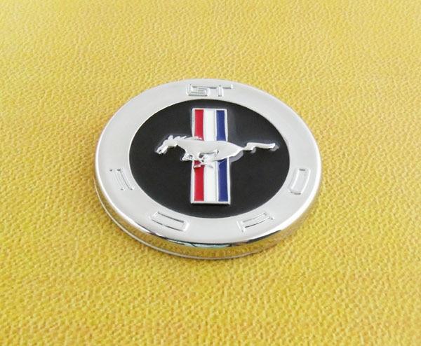 Auto car Chrome Tri-Bar Running Horse Pony for Mustang Emblem Badge Sticker auto car chrome turbodiesel turbo diesel emblem badge sticker