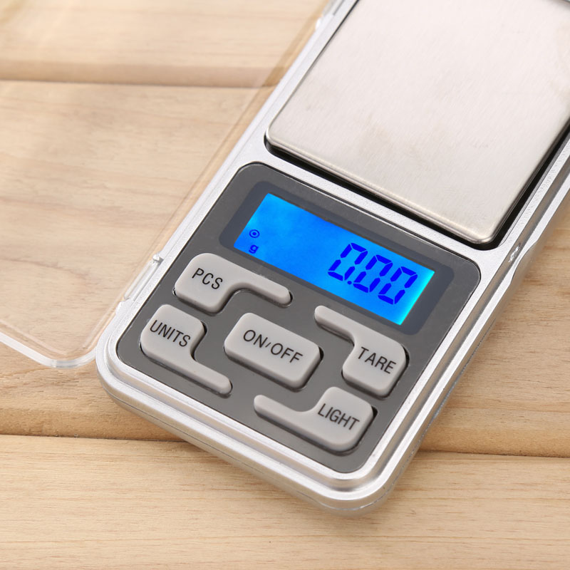 Mini Precision Digital font b Electronic b font Pocket Scale Weight LCD Gram Jewellery Scales Tool
