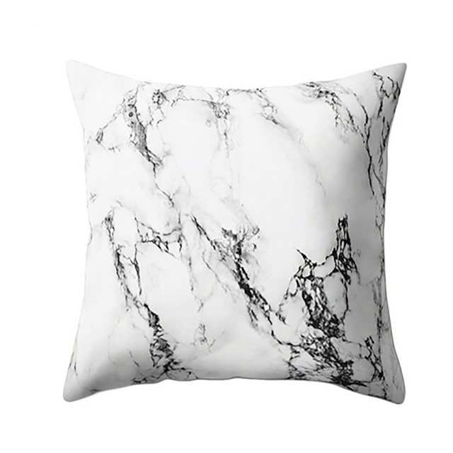 Gajjar Federa 45*45 Marble Texture Gettare Pillow Case cuscini decorativi stampa