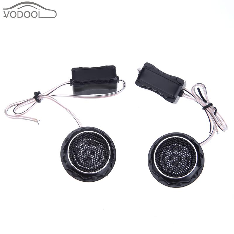2Pcs 140W High Frequency Car Interior Mini Speaker Automobiles Loud Speakers Car Refit Loudspeaker Tweeters Kit Auto Accessories
