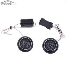 2Pcs 140W High Frequency Car font b Interior b font Mini Speaker Automobiles Loud Speakers Car