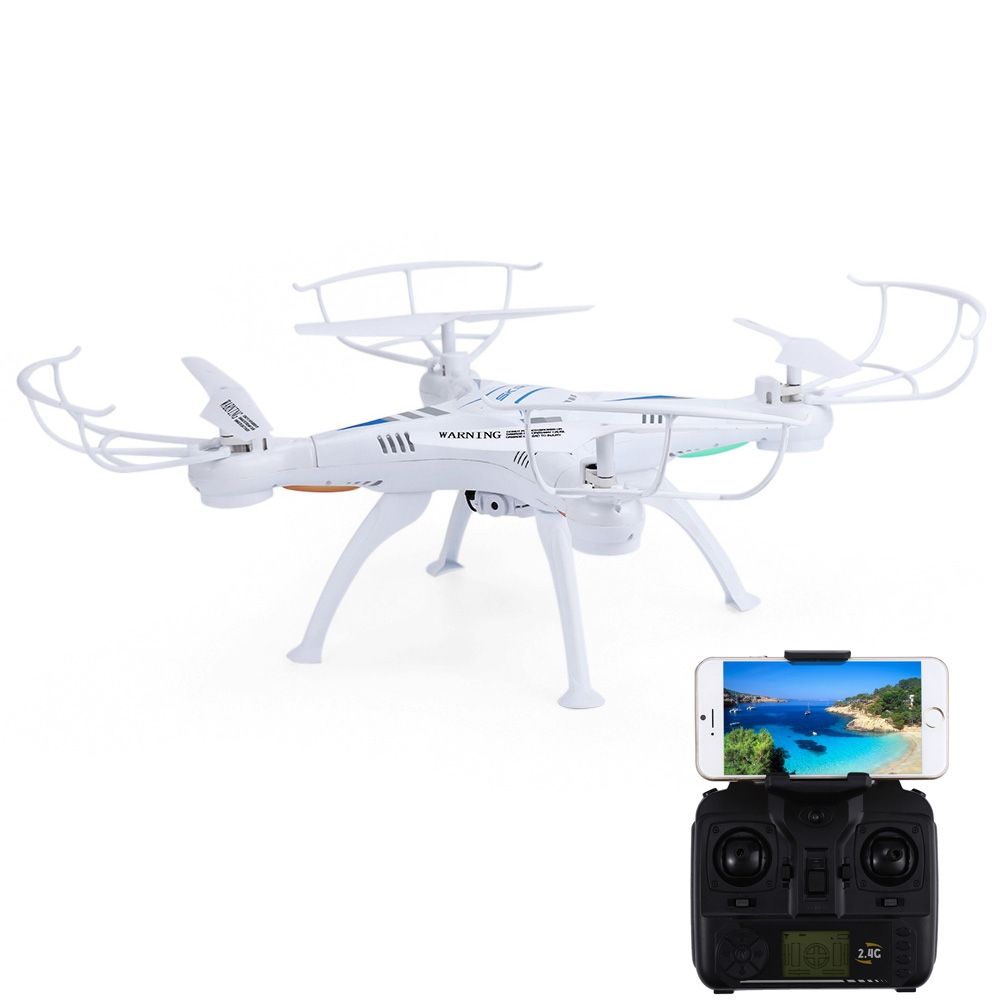 SKRC Q16 RC Drone Dron WiFi FPV Camera 2.4GHz 4CH 6 Axis Gyro Quadcopter RTF APP Control Flashing LED Helicopter Toys Xmas Gifts huanqi rc quadcopter 2 4g 4ch 6 axis gyro rtf drone dron wifi fpv 0 3mp camera remote control quadcopter auto return drones toy
