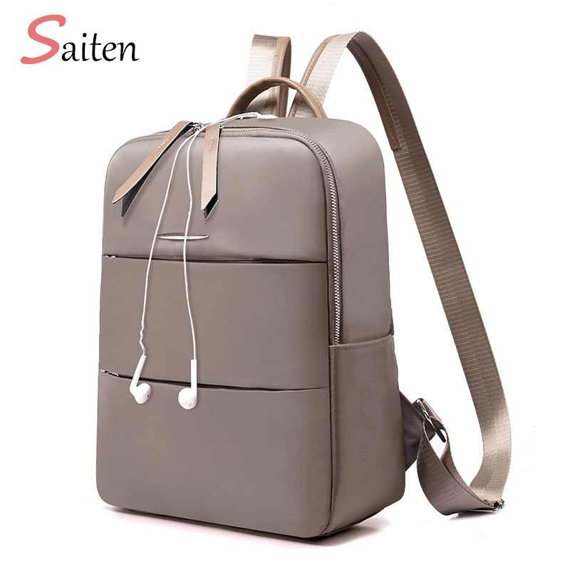 3 Zipper Anti-theft Backpack Top Selling Waterproof Oxford Backpacks Diamond Lattice Bag High Capacity Solid Backpacks For Girls