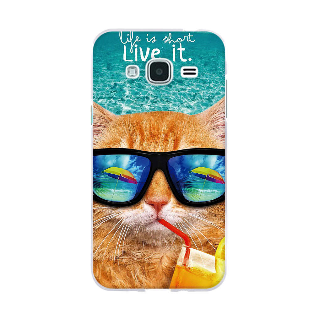 fundas for Samsung Galaxy j1 j J3 j5 2016 Case Cover For Samsung j5 - Բջջային հեռախոսի պարագաներ և պահեստամասեր - Լուսանկար 2