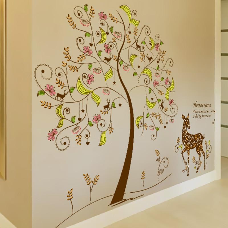 Fine Autumn Tree Wall Art Elaboration - Wall Art Ideas - dochista.info