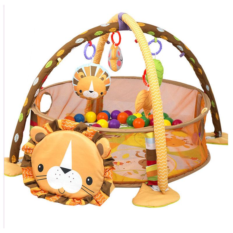 Baby Pretend Play Playpen Fence Baby Toy Bundle Play Mat Climbing Gym Activity Playmat Kids Activity Carpet Home Floor Blanket