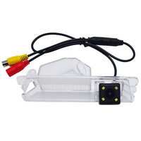 2018 CCD HD Night Vision 4 LEDS Special Car Rearview Rear View Reverse Backup Camera For