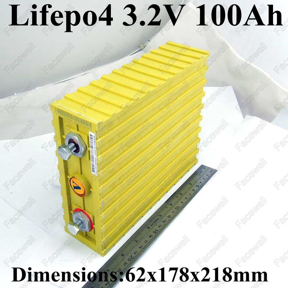 Large Capacity 3 2v Batterie Lifepo4 100ah Battery Cell