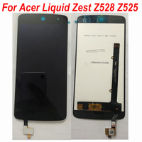 Original LCD screen Display Touch panel Digitizer Assembly For Acer Liquid Zest Z525 Z528 T06 t07 15 22251 60561 Replacement fix